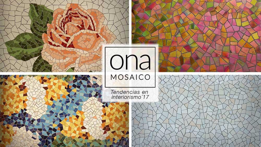 Tendencias en interiorismo 2017 mosaico y trencad s for Tendencias interiorismo 2017