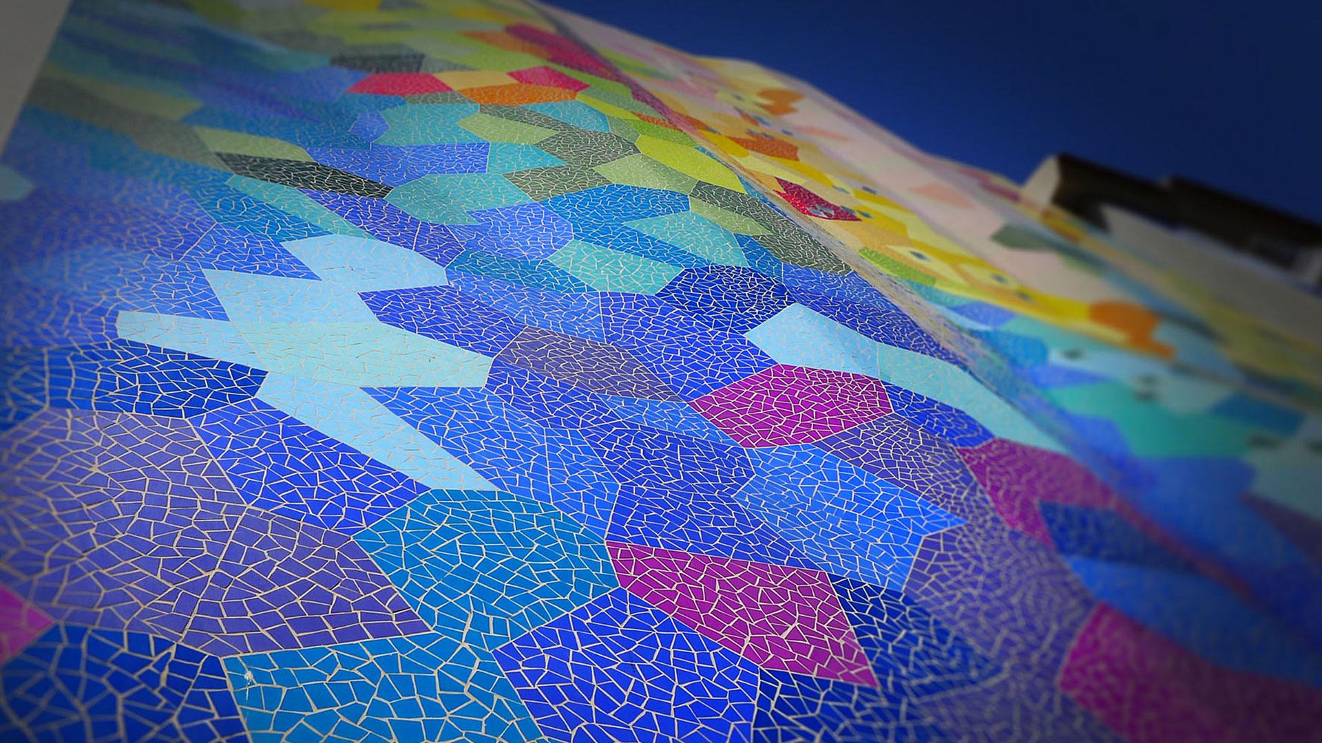 color-ona-mosaicoFachada color trencadís mosaico